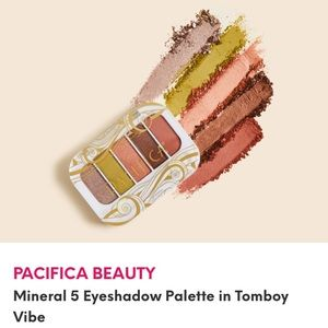NWT Pacifica tomboy vibes eyeshadow palette BYOBB